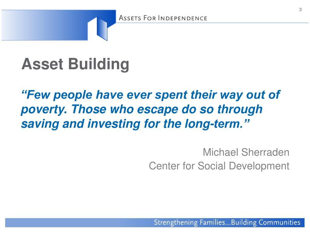 Asset Building