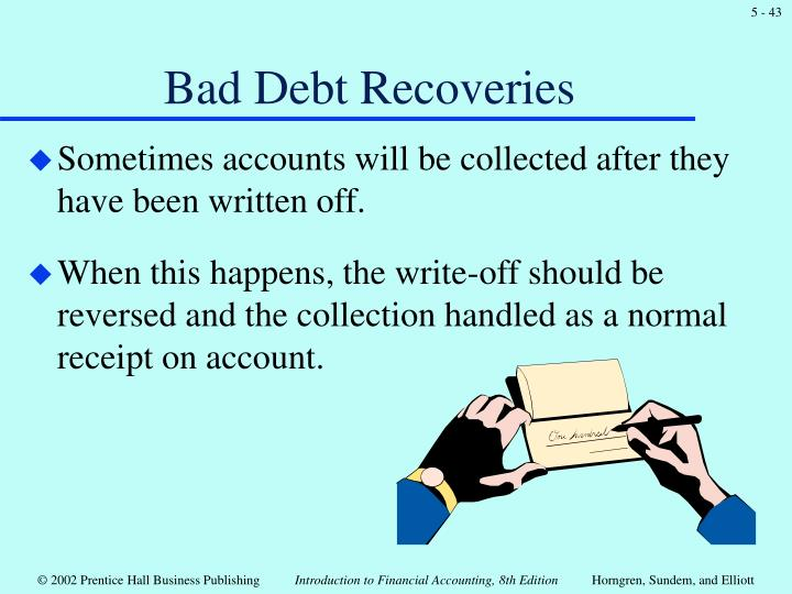 Bad Debt Recoveries