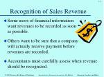 recognition of sales revenue1