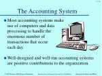 the accounting system1