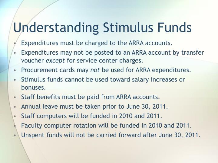 Understanding Stimulus Funds