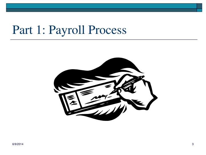 Part 1 payroll process