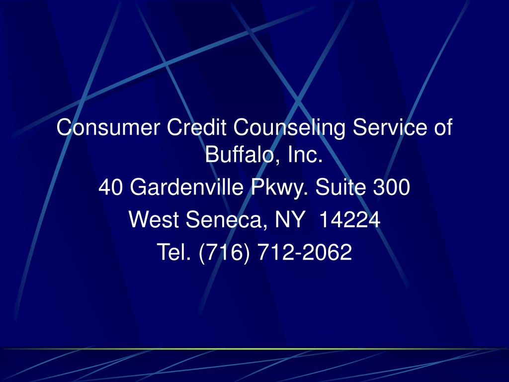 Consumer Credit Counseling Service of Buffalo, Inc.