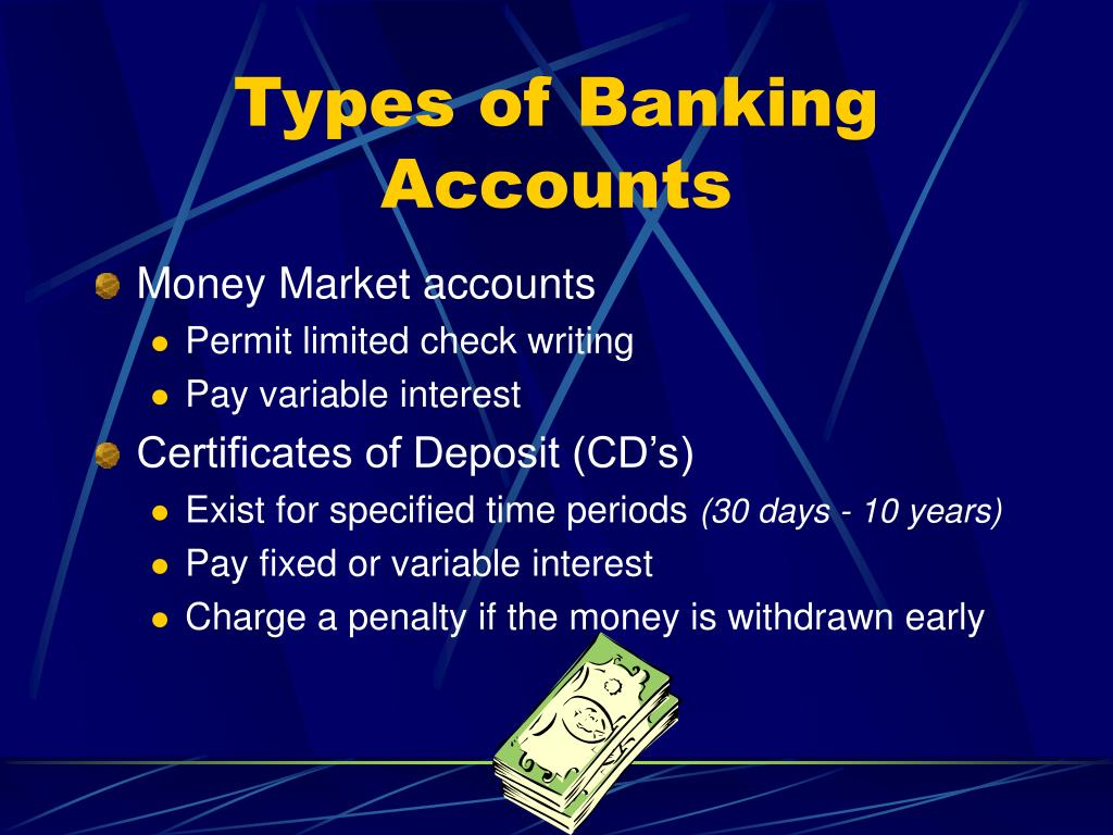 Types of Banking Accounts