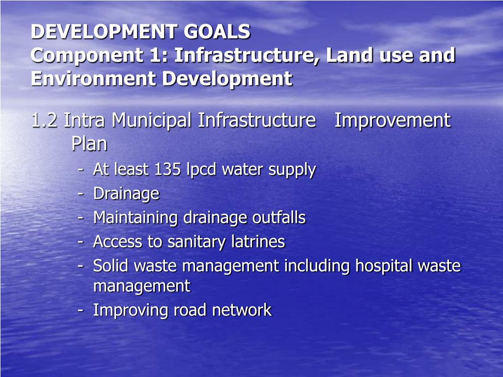 DEVELOPMENT GOALS