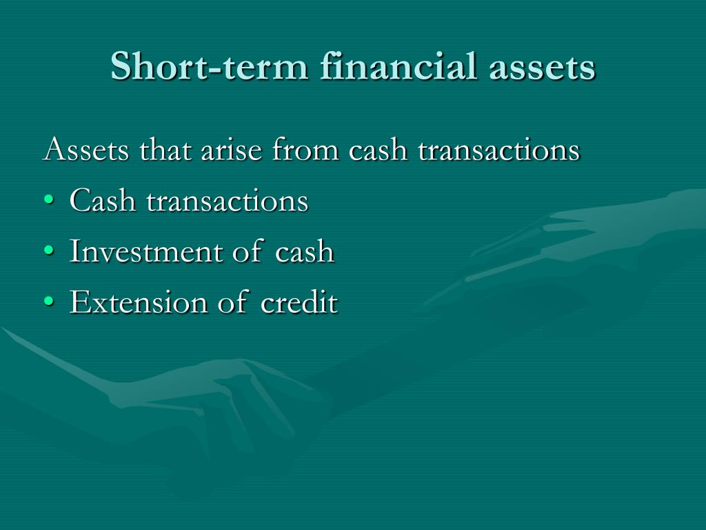 Short-term financial assets