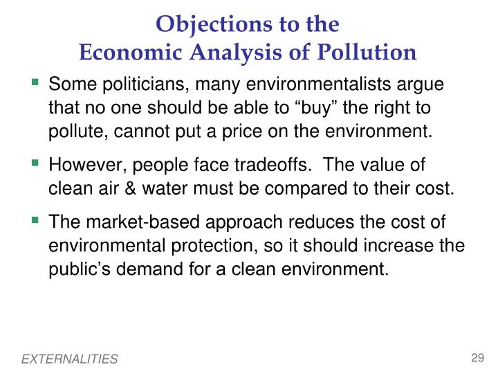 an analysis of the global tradable pollution permits Incentive-based regulatory approaches: environmental  pollution so, we see with tradable permits  based regulatory approaches: environmental taxes.
