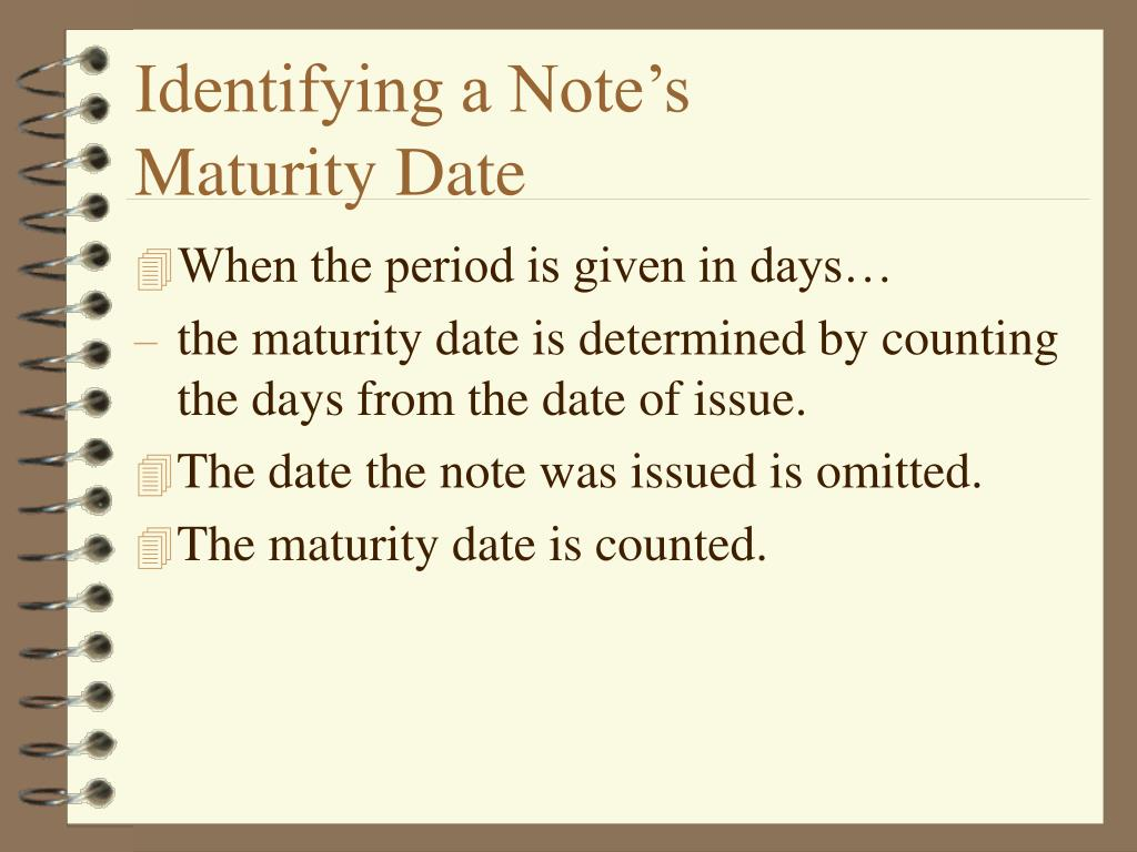 Identifying a Note's