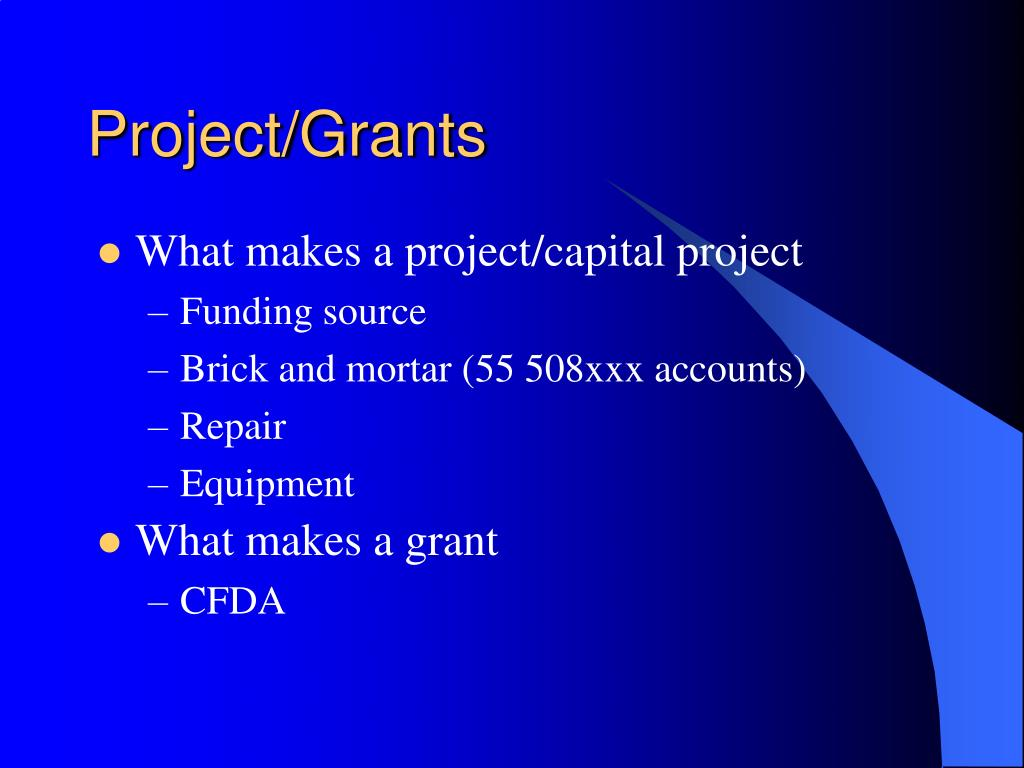 Project/Grants