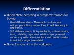 differentiation34