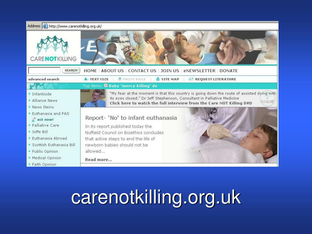 carenotkilling.org.uk
