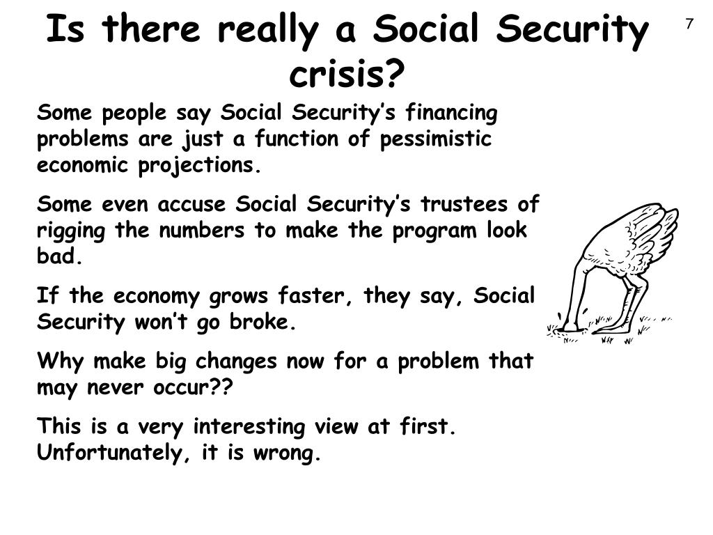Is there really a Social Security crisis?