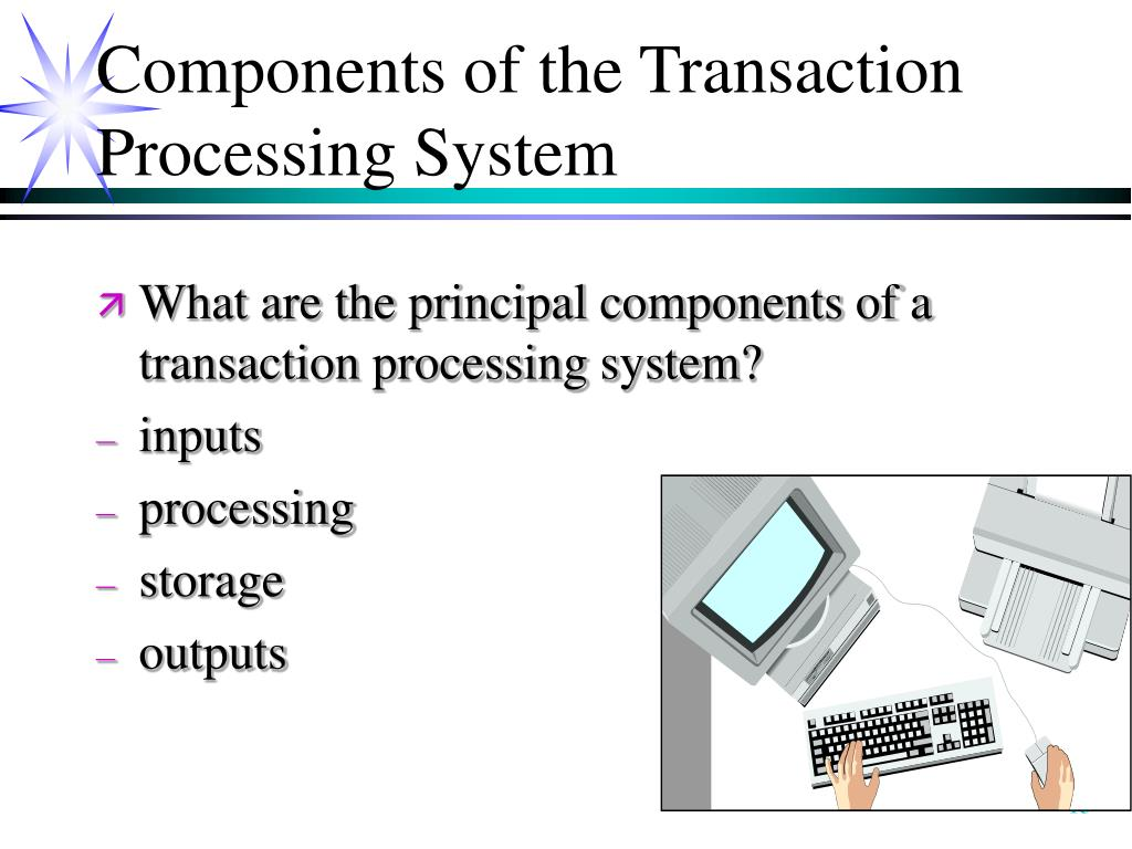 Components of the Transaction Processing System