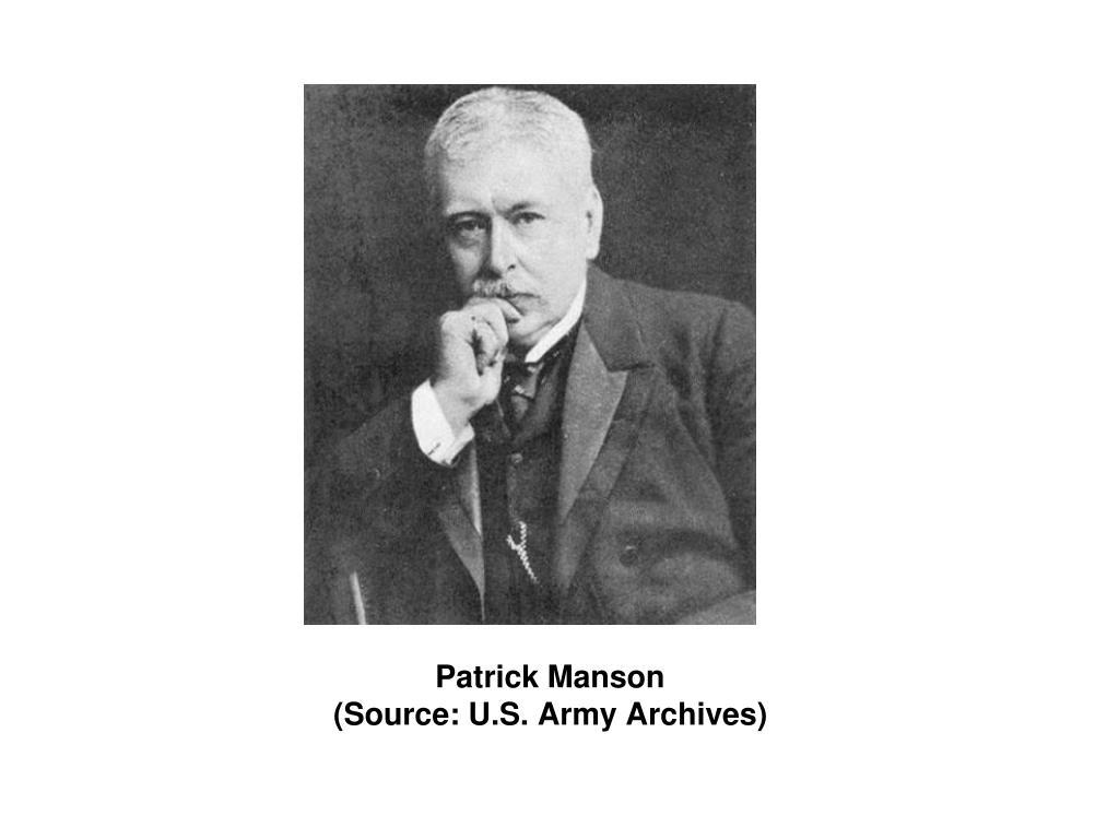 Patrick Manson