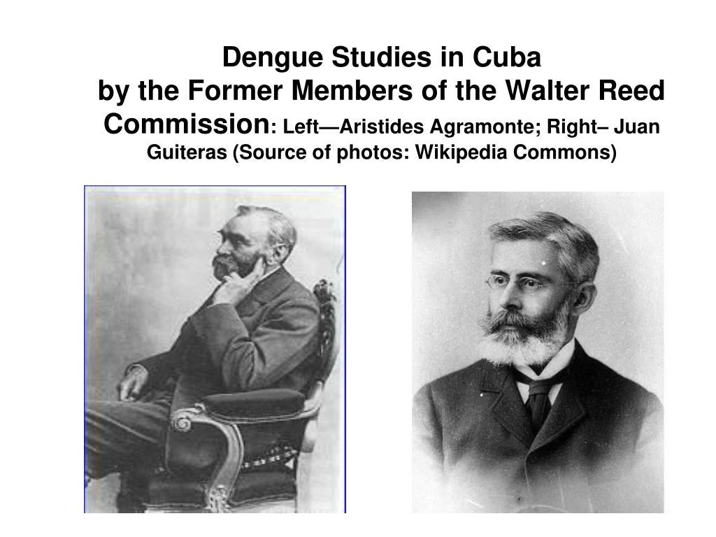 Dengue Studies in Cuba