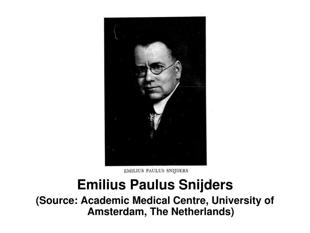 Emilius Paulus Snijders