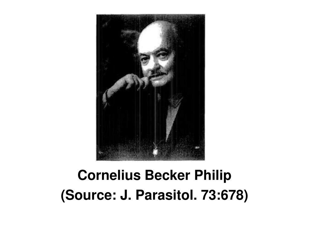 Cornelius Becker Philip