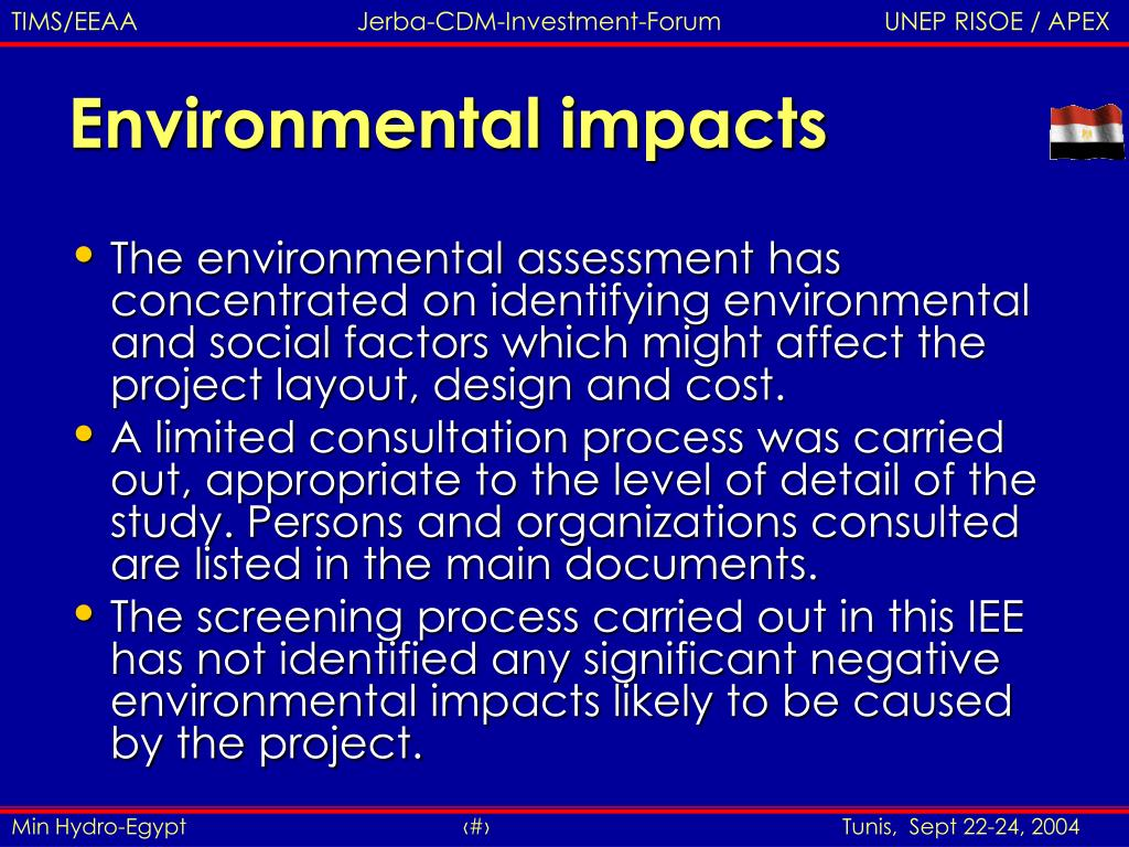analysis of the negative environmental impacts Solid waste disposal is one of those rare endeavors where success breeds anonymity like other environmental elements that they resulted in negative impacts such as degraded health and environmental conditions and compromised community revitalization plans and economic activity.