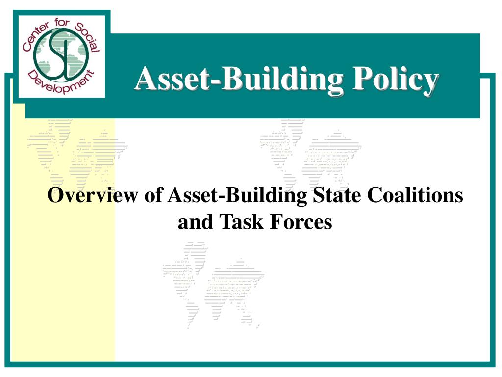 Overview of Asset-Building State Coalitions and Task Forces