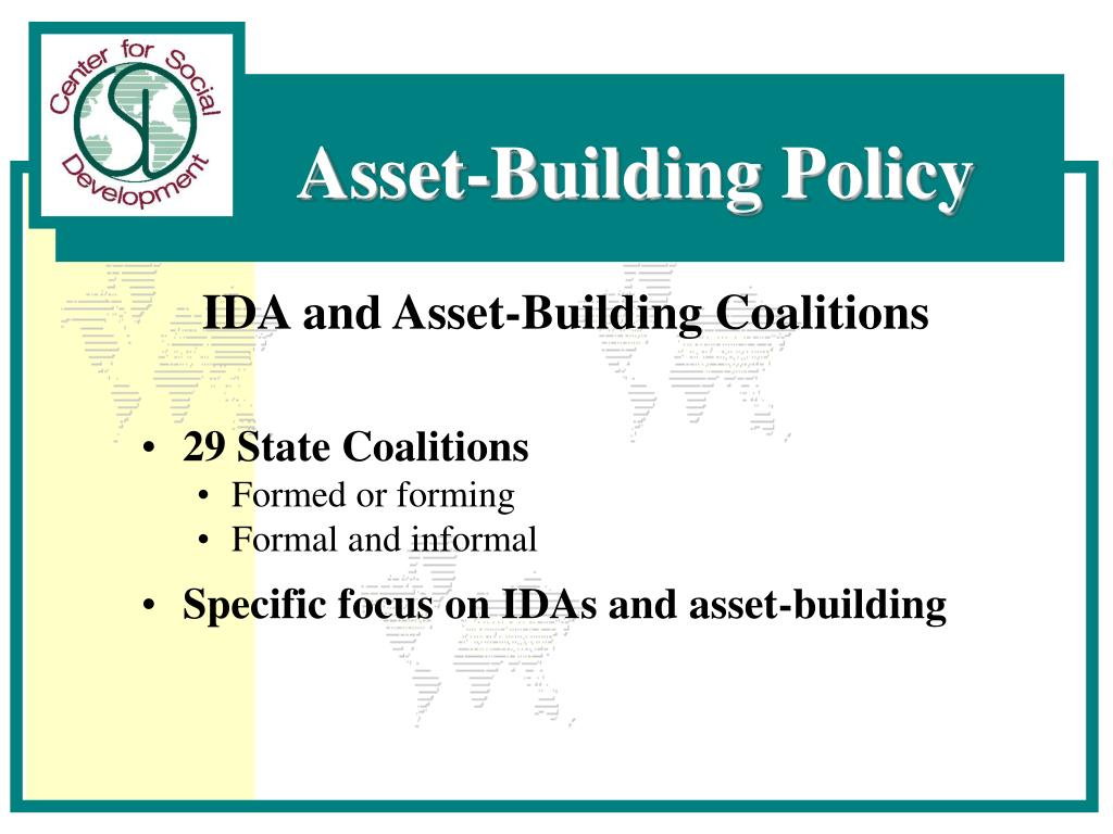 IDA and Asset-Building Coalitions