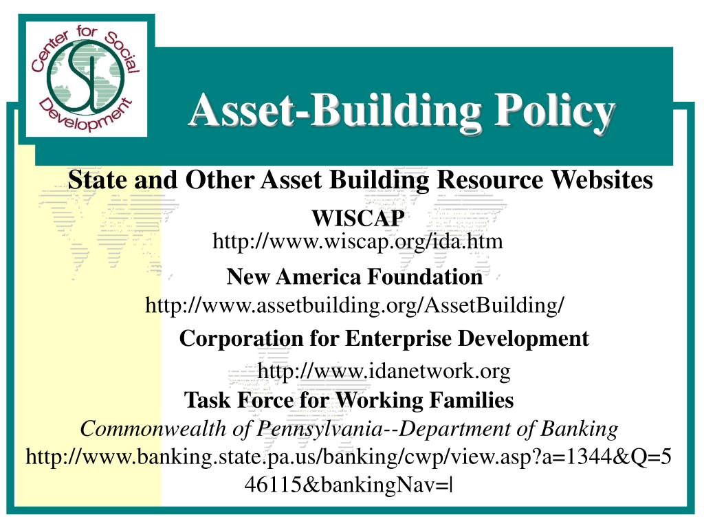 State and Other Asset Building Resource Websites