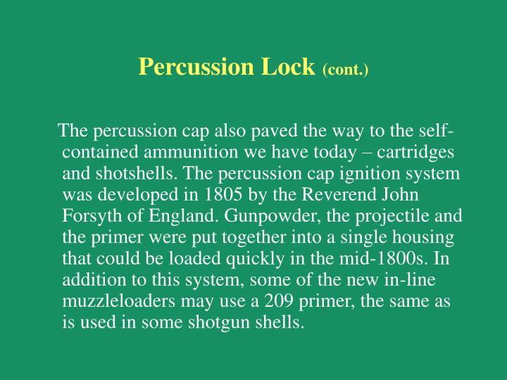 Percussion Lock