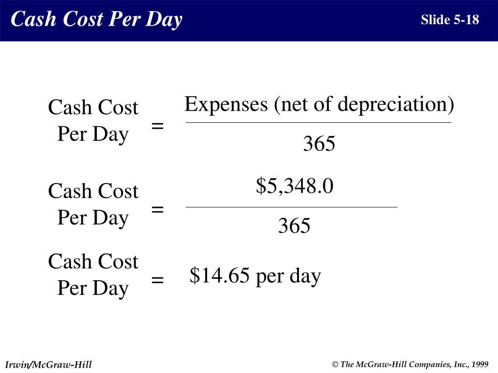 Expenses (net of depreciation)