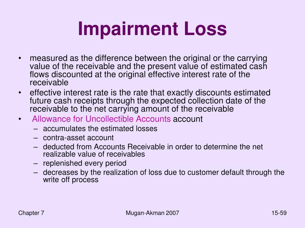 Impairment Loss