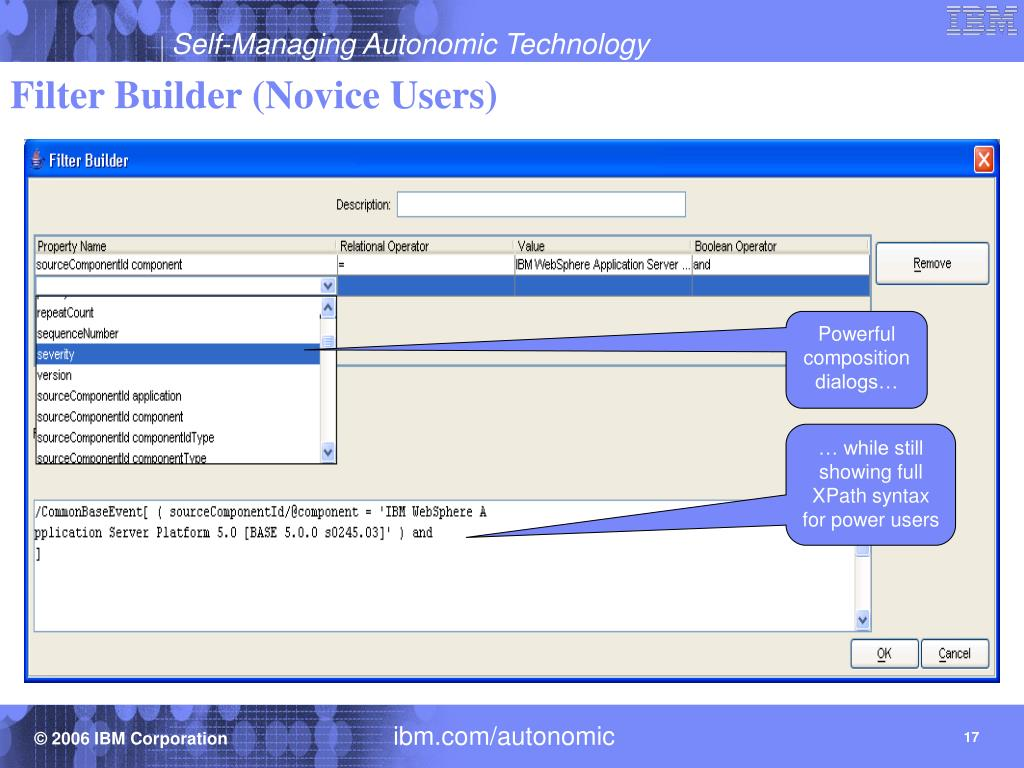 Filter Builder (Novice Users)