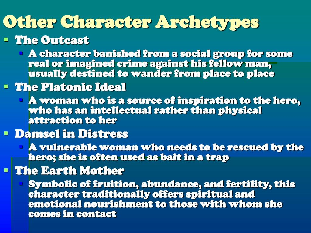 Other Character Archetypes