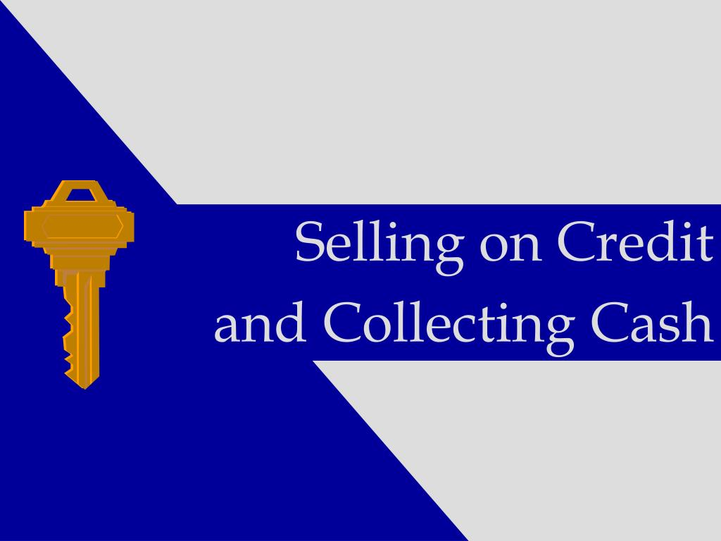 Selling on Credit