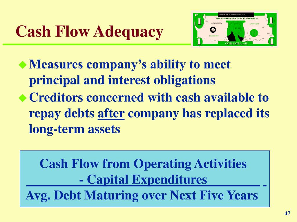 Cash Flow Adequacy