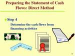 preparing the statement of cash flows direct method31