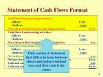 statement of cash flows format36