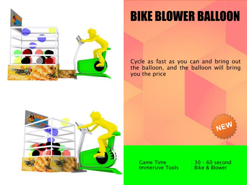 BIKE BLOWER BALLOON