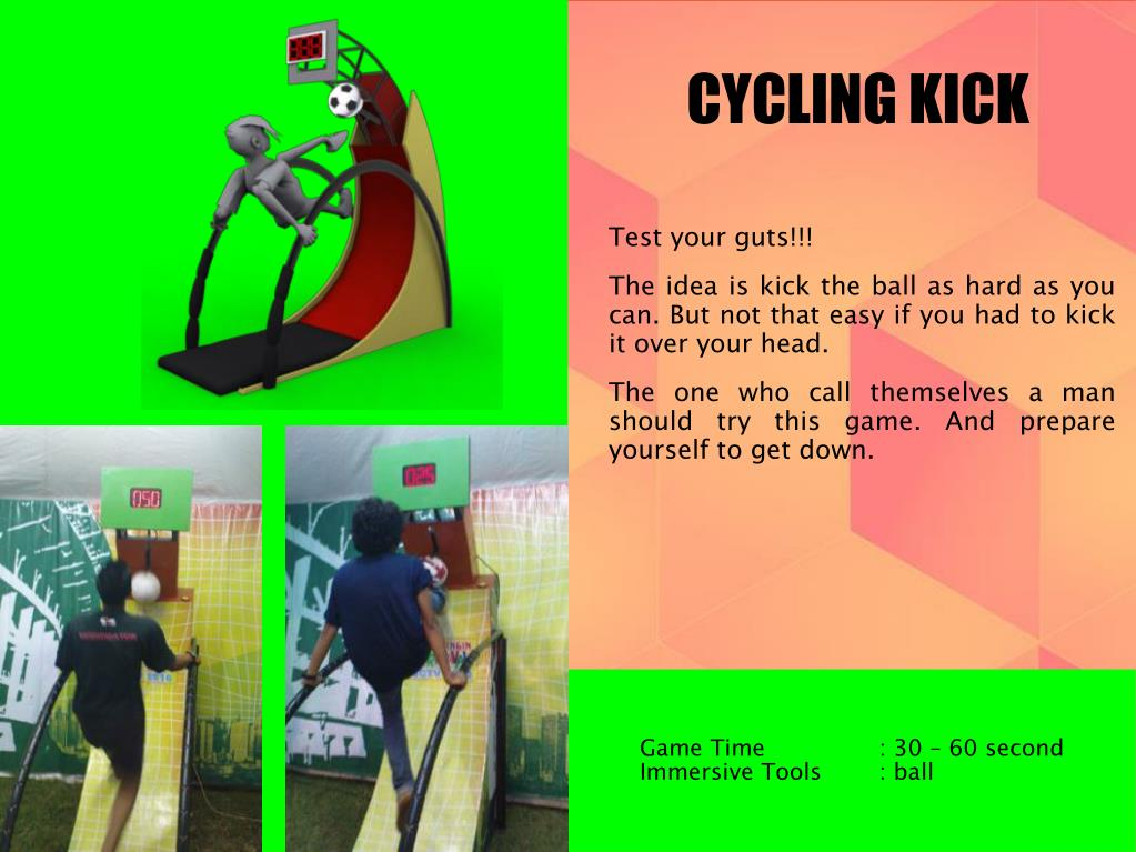 CYCLING KICK