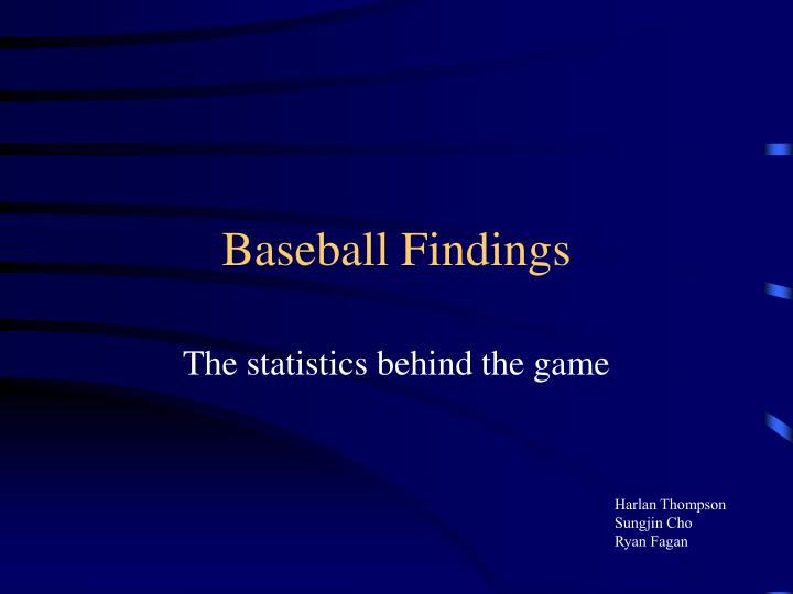 Baseball findings l.jpg
