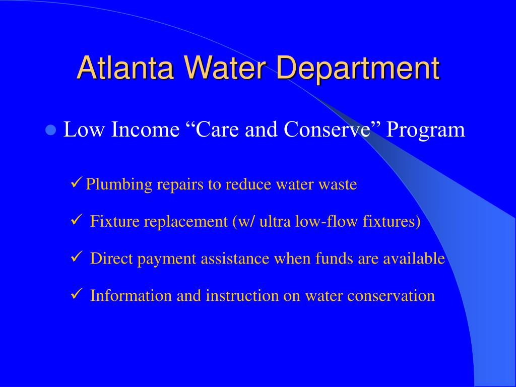 Atlanta Water Dept 85
