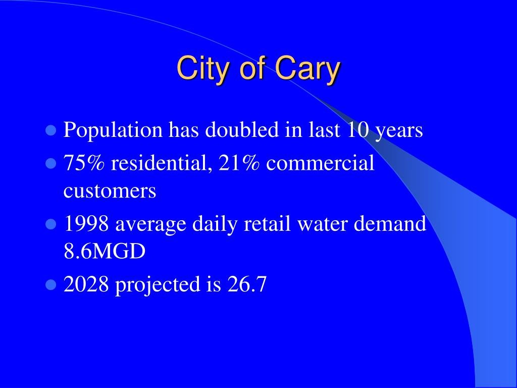 City of Cary