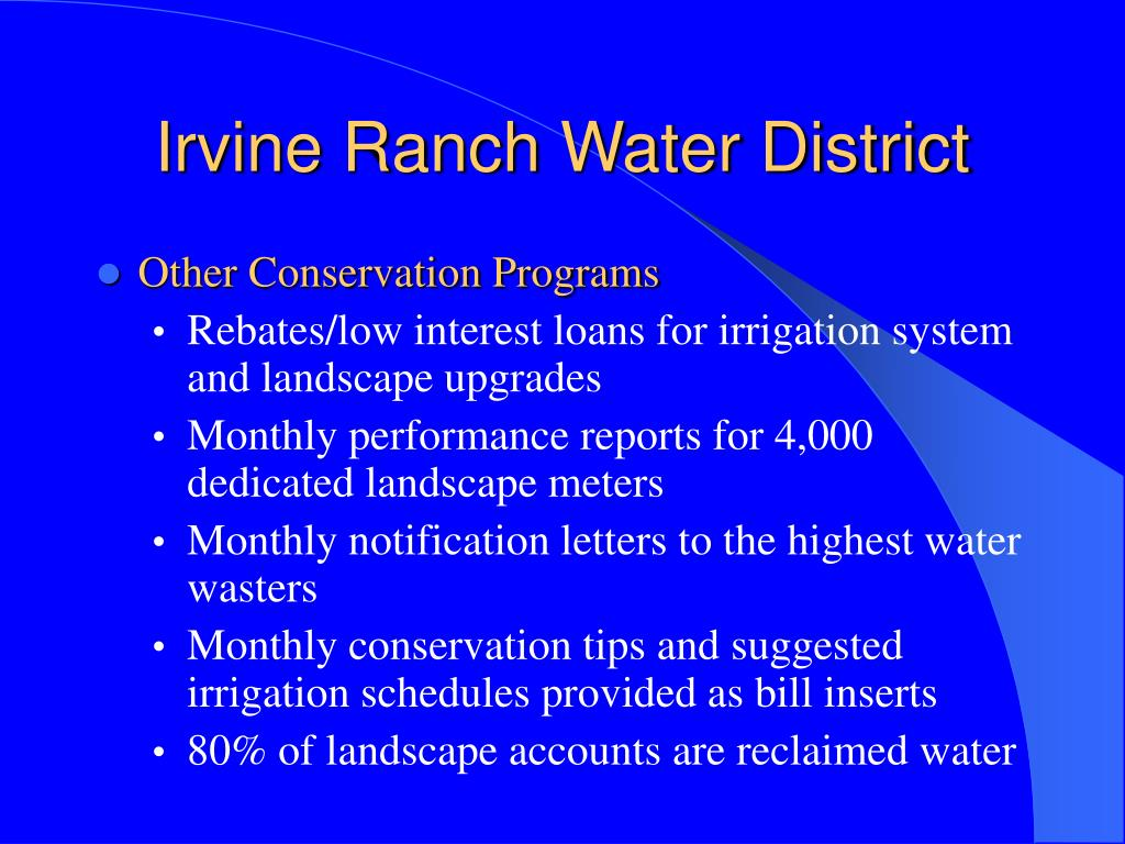 Irvine Ranch Water District