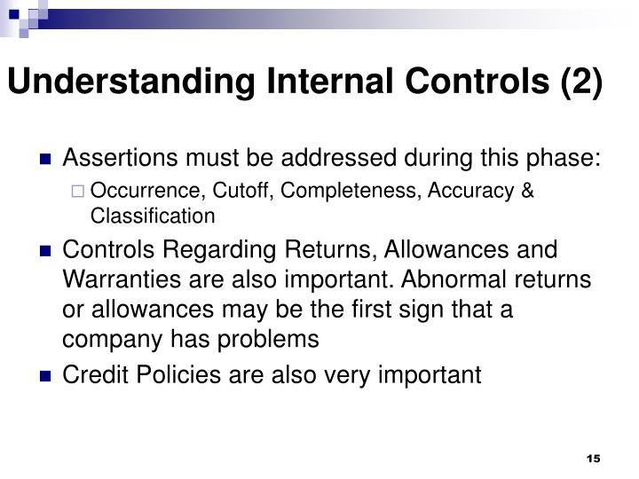 Understanding Internal Controls (2)