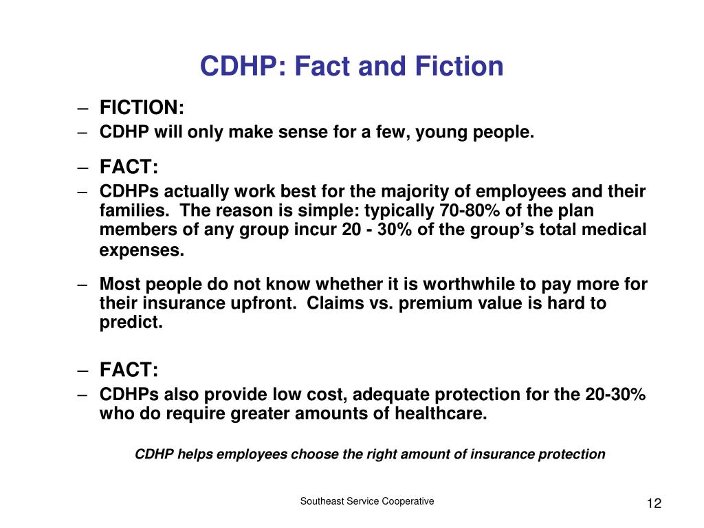 CDHP: Fact and Fiction