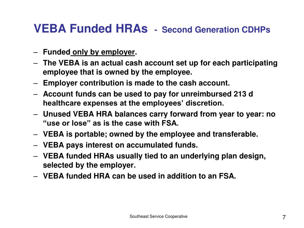 VEBA Funded HRAs