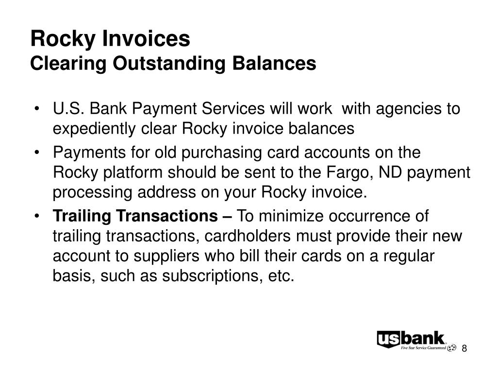 Rocky Invoices