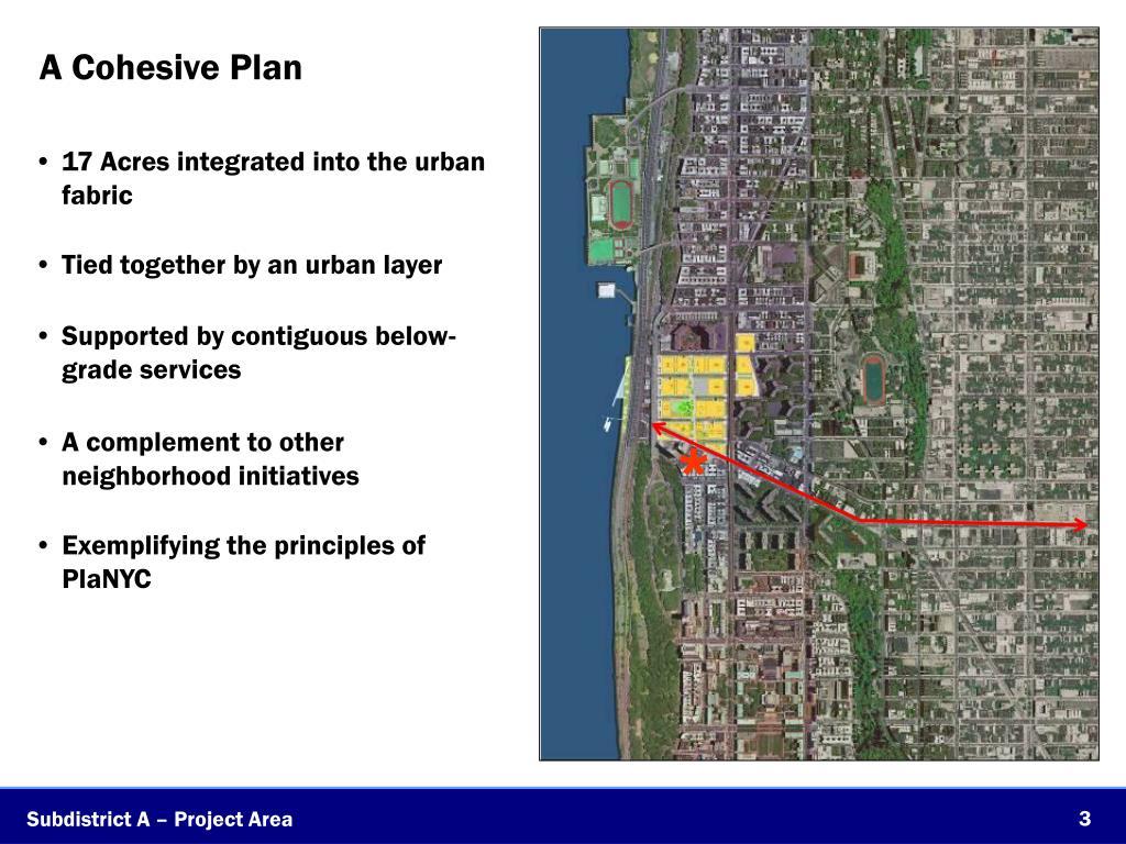 A Cohesive Plan