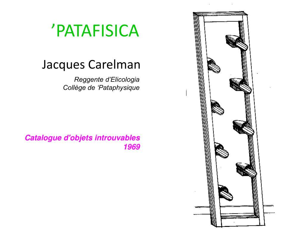 'PATAFISICA