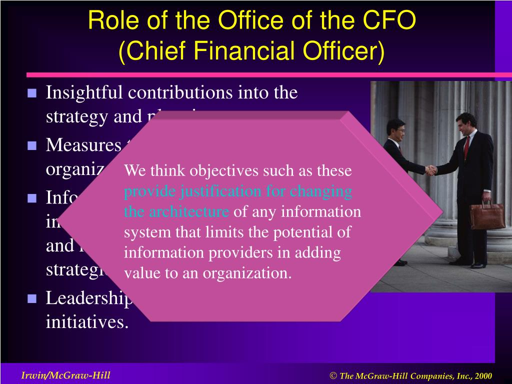 Role of the Office of the CFO