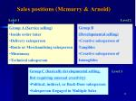 sales positions mcmurry arnold
