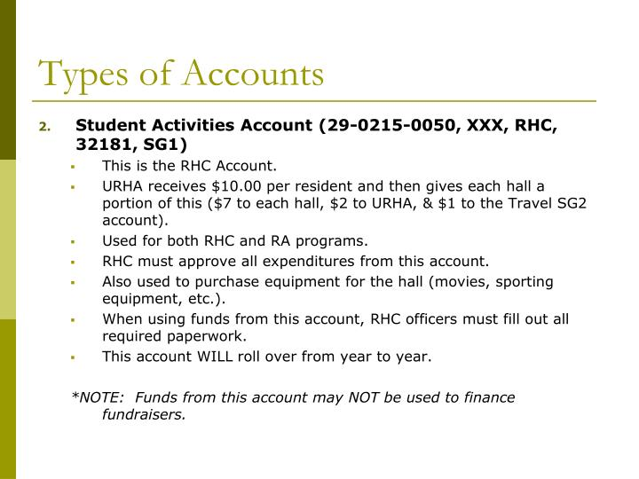 Types of accounts3
