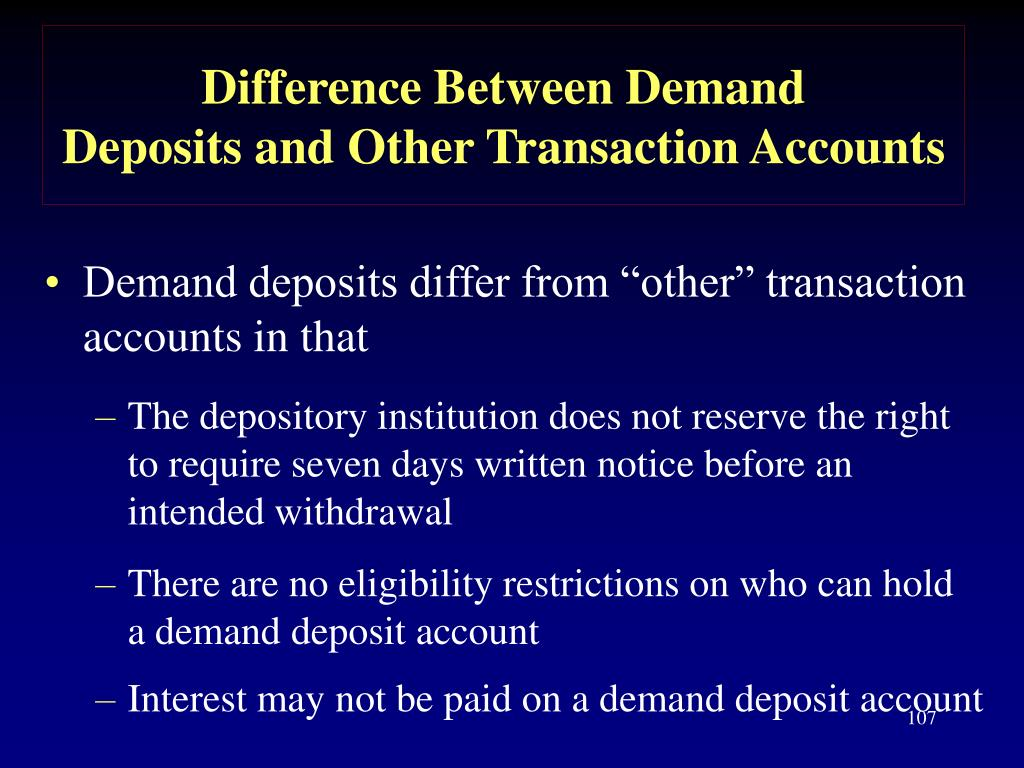 Difference Between Demand